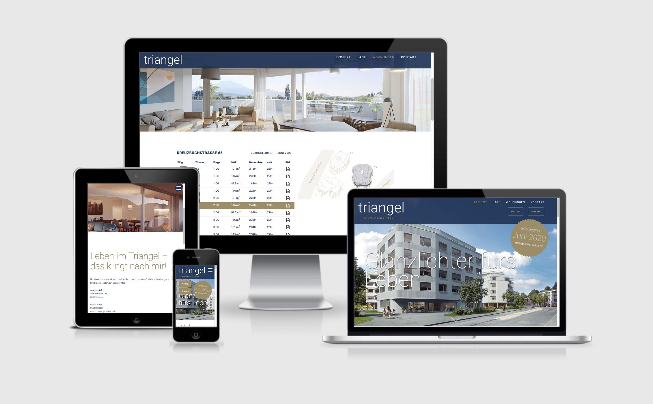 Immobilien Projekt Triangel Reel/Smeyers
