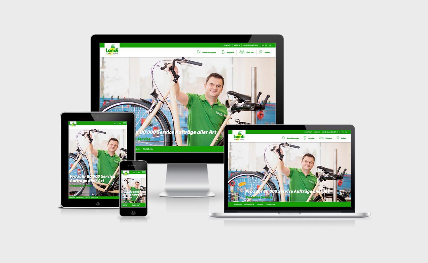 Website Landi Schweiz