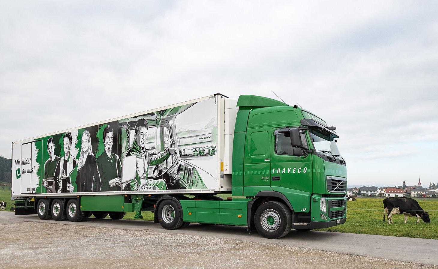 Traveco Lastwagen